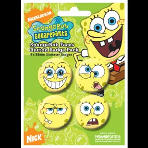 Spongebob Squarepants Badge Pack