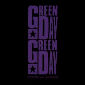 Green Day (Purple) Patch