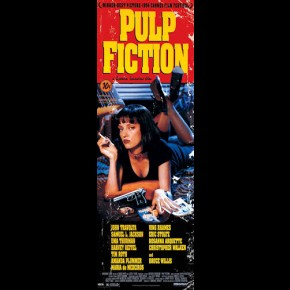 Pulp Fiction Door Poster