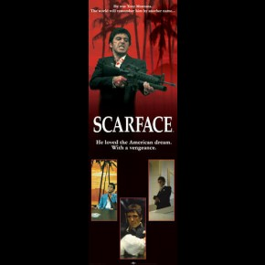 Scarface American Dream Door Poster
