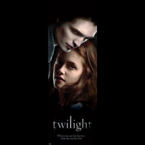 Twilight Edward & Bella Door Poster