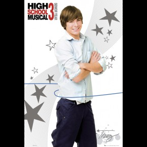 Zac Efron High School Musical Shirt Poster