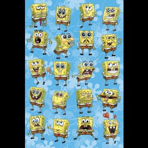 Spongebob Squarepants Emotions Poster