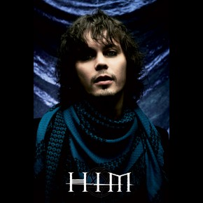 HIM Ville Valo (Blue) Poster