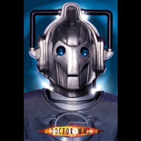 Doctor Who Cyberman Poster