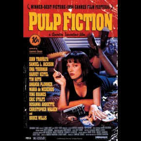 Pulp Fiction Uma Thurman Poster