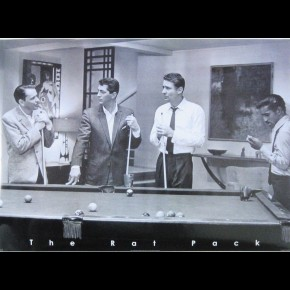 Rat Pack Pool Poster