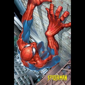 Spiderman Comic Poster