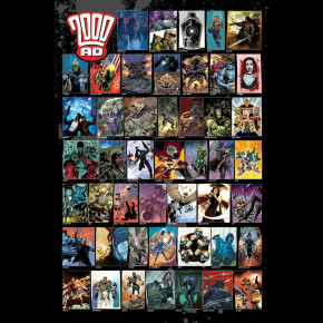 2000AD Characters Poster