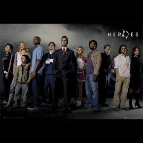 Heroes Characters Poster
