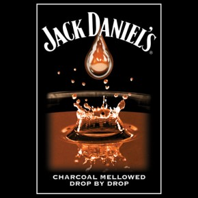 Jack Daniel's Charcoal Mellowed Poster