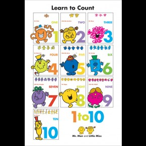 Mr Men and Little Miss (Counting) Poster
