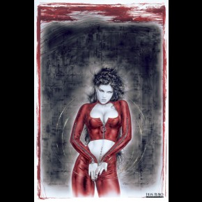 Luis Royo Prohibited Poster