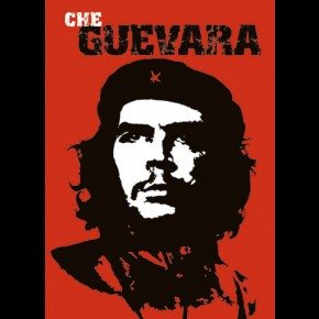 Che Guevara Red Poster