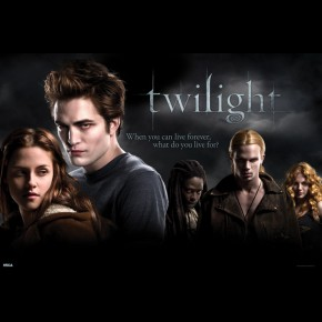 Twilight Bella Edward & Nomads Poster