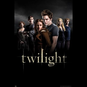 Twilight Bella Edward & Family Poster