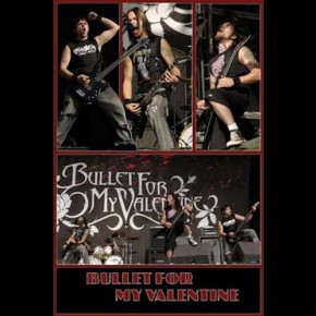 Bullet For My Valentine On Stage Poster