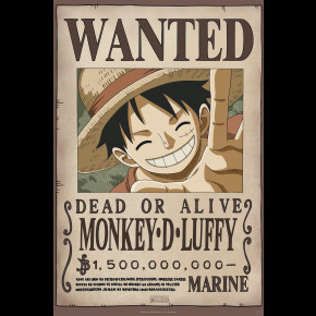 One Piece (Monkey D Luffy) Poster