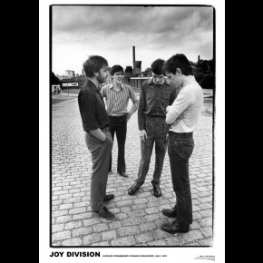 Joy Division Strawberry Studios Poster