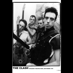 Clash Backstage Paris Poster