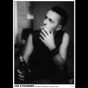 Clash Joe Strummer Palladium Poster