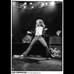 Led Zeppelin Robert Plant Poster