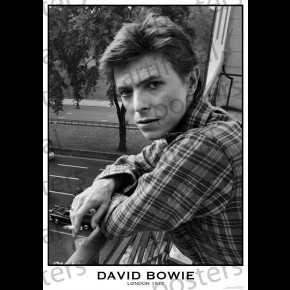 David Bowie (London 1977) Poster