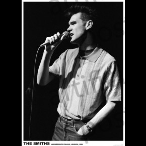 Smiths Morrissey (London)  Poster