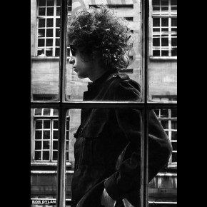 Bob Dylan (Window) Poster