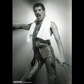 Queen Freddie Mercury (On Stage) Poster