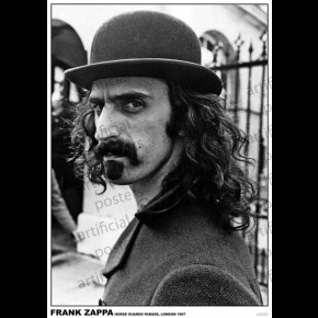 Frank Zappa (Horse Guards Parade) Poster