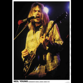Neil Young (London 1967) Poster