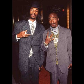 Snoop Dogg and 2Pac Poster