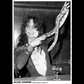 Alice Cooper (London 1971) Poster