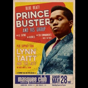 Prince Buster (Marquee Club) Poster