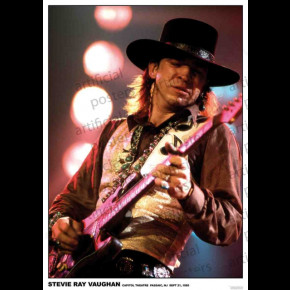 Stevie Ray Vaughan (Capitol Theatre 1985) Poster