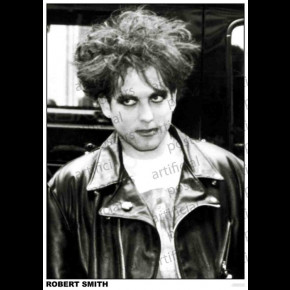 Cure (Robert Smith Leather Jacket) Poster