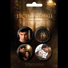Twilight New Moon Jacob Badge Pack