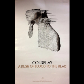 Coldplay Rush Of Blood Promo Poster