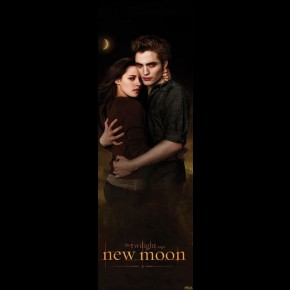 Twilight New Moon Edward & Bella Door Poster