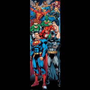 Justice League Door Poster