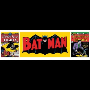 Batman Triptych Door Poster