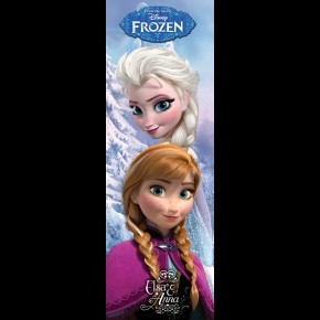 Frozen (Elsa and Anna) Door Poster
