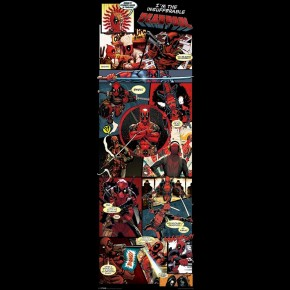 Marvel Deadpool (Insufferable) Door Poster