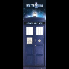 Doctor Who (Tardis) Door Poster
