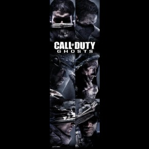 Call Of Duty Ghosts Door Poster (Profiles)