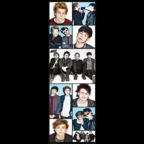 5 Seconds Of Summer (Montage) Door Poster