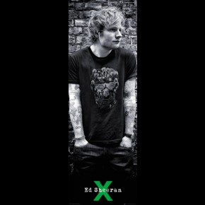 Ed Sheeran X Door Poster
