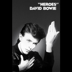 David Bowie Heroes Poster