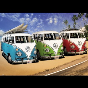 VW Californian Camper Van Giant Poster